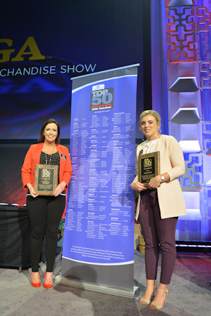 Michelle Holmes Master Teacher and Zoe Allen Top 50 Coach