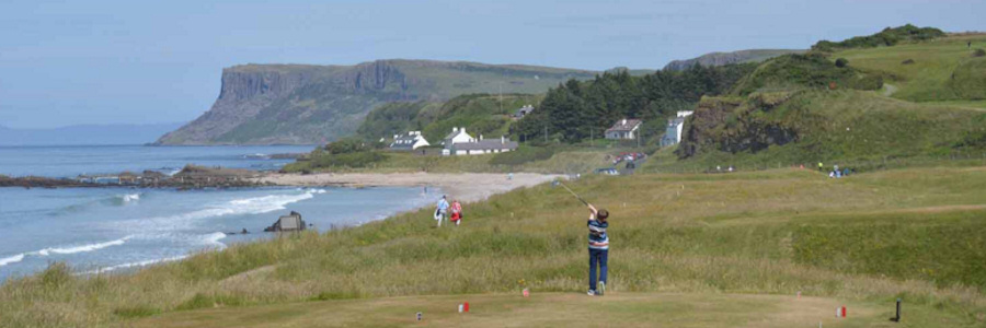Ballycastle first up on the US Kids Golf North of Ireland Summer Tour double header weekend