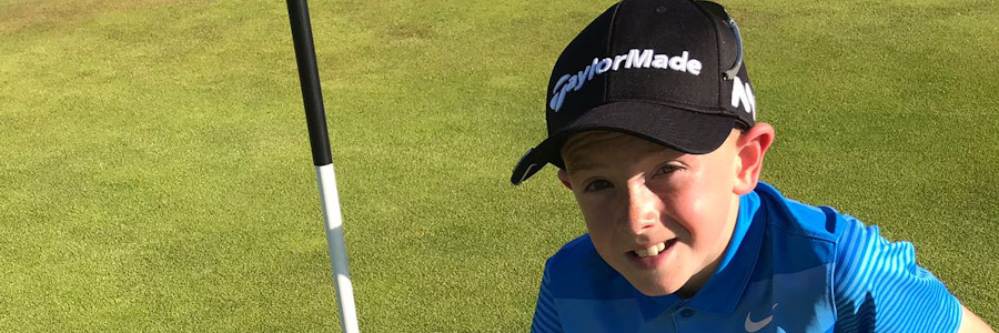 Conor makes history with U.S. Kids North Ireland Tour's first hole in one