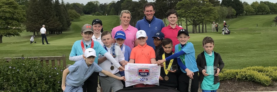 Photos from the US Kids 2019 North of Ireland Spring Tour - Lurgan (Tour Championship)